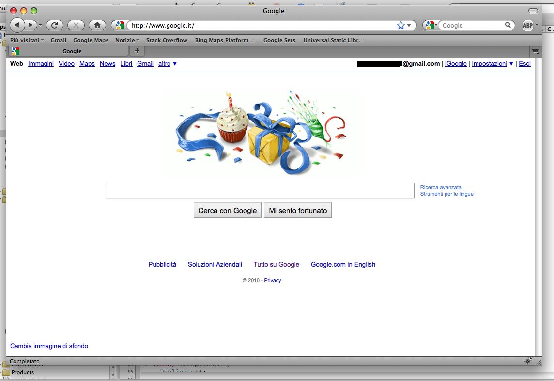 Google Home Auguri Alberto