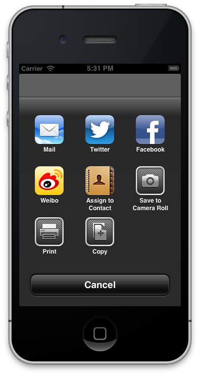ios social view controller