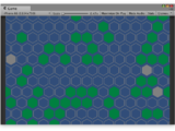 Unity3D - Draw hexagons map in canvas