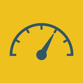 [App] speedo[kilo]meter for iOS
