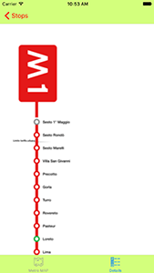[Swift] Milan Metro app