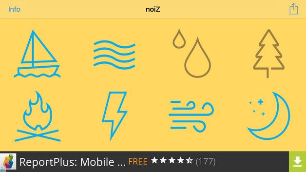 [App] noiZ __ sounds for iOS